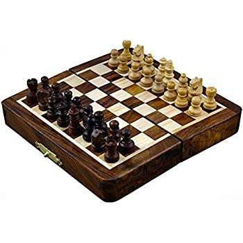 4th Of July Independence Day Sale!! Magnetic Folding Chess Board Travel  Game Set Dimesion