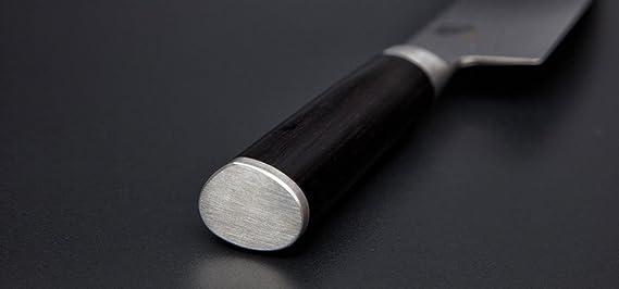 Kai DM-0702L Shun - Cuchillo Santoku para Zurdos (Longitud de la Hoja de 18 cm)