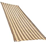 QIANGDA Pergola Cover Sunshade Netting Sunscreen Encryption Blocking Light Polyethylene No Smell Gardening Greenhouse, Stripe Color, Multi-size Optional (Size : 3 x 5m)