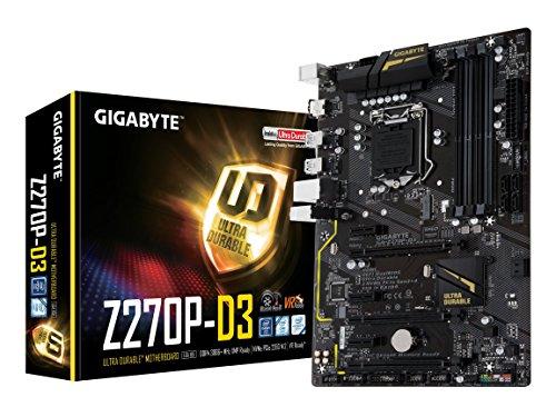 GIGABYTE GA-Z270P-D3 LGA1151 Intel Z270 2-Way Crossfire ATX DDR4 Motherboard (Certified ()