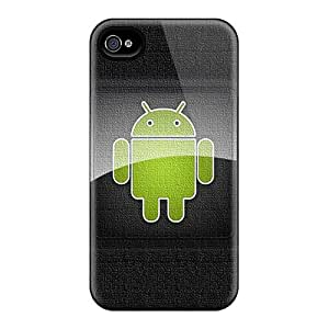 New Android Tpu Case Cover, Anti-scratch RvxXRLc5654IUYYT Phone Case For Iphone 4/4s
