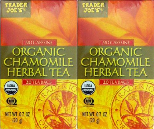 Amazon.com : Trader Joes Peppermint Tea TWO PACK -- 40 Tea