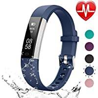 LETSCOM Fitness Tracker HR, Heart Rate Monitor Watch with...