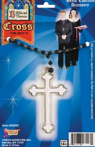 Faith Priest Costumes (White Cross Necklace)