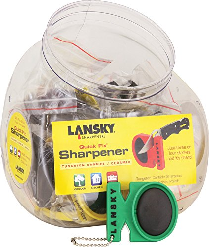 Lansky Quick Fix Pocket Sharpener - Lansky BLCSTC24 Quick Fix 24 in Bowl Pocket Sharpener