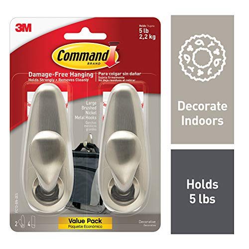 Command Hook, Indoor Use (FC13-BN-2ES)