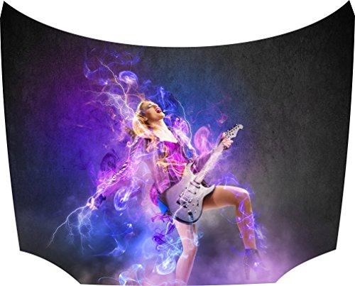 Rock singer Bonnet Sticker:
