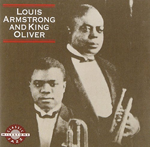 Louis Armstrong And King Oliver by Milestone