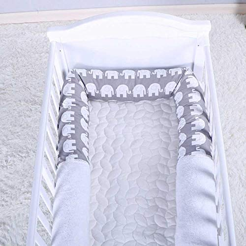 MOGOI Bumper Snake 79 In Crib Bumper Pads Organic Cotton Padded Liner For Crib And Bed Baby Braid Crib Bumper Toddler Bed Sleep Bumper Crib Pillow Long Baby Cot Bed Roll Animal Nursery Crib Snake Pillow