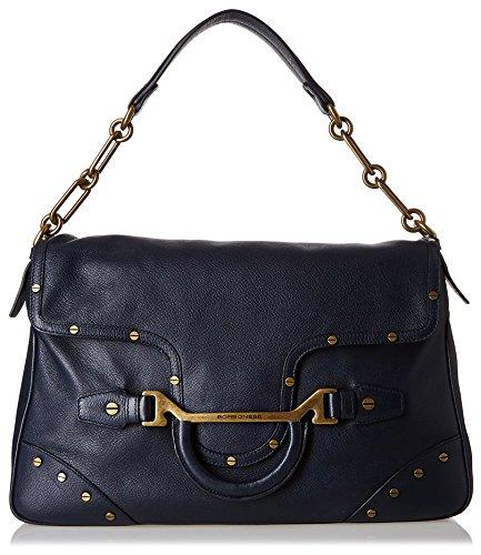 BORBONESE Bag Hand Handle 97K Bracket Blue