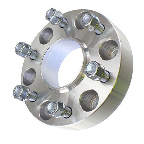 (4) Chevy 1.50'' ( 38mm ) Hubcentric 6x139.7 Wheel Spacers Fits Silverado Tahoe Avalanche Suburban by Titan Wheel Accessories (Image #2)
