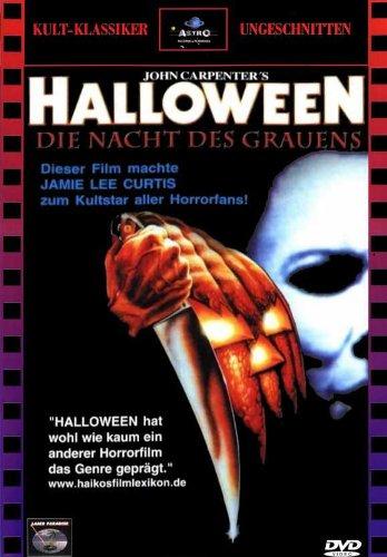 Halloween Movie Poster (27 x 40 Inches - 69cm x 102cm) (1978) German -(Jamie Lee Curtis)(Donald Pleasence)(Nancy Loomis)(P.J. Soles)(Charles Cyphers)(Kyle Richards) ()