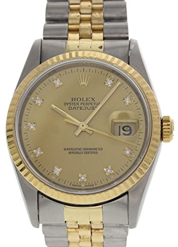Rolex Datejust automatic-self-wind mens Watch 16233G (Certified Pre-owned)