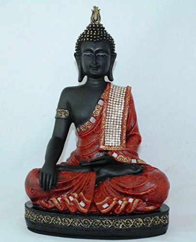red resin buddha - 3