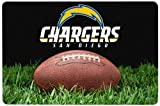 GameWear NFL San Diego Chargers Classic Football Pet Bowl Mat, Large