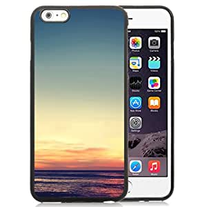 New Beautiful Custom Designed Cover Case For iPhone 6 Plus 5.5 Inch With Tranquil Sunset Phone Case