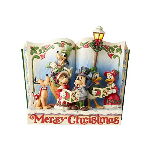 Enesco Disney Traditions by Jim Shore Storybook Christmas - Jim Donald Shore Duck