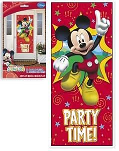 Amazon.com: Decoraciones De Pared Mickey Mouse Para Fiestas De