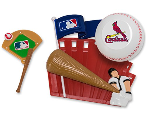 CAKEMAKE MLB Home Run, Cake Topper, St. Louis -
