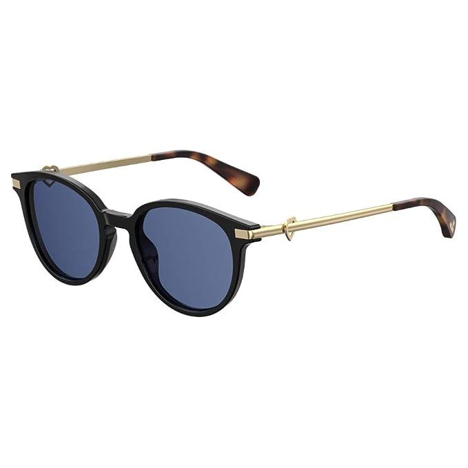 Love Moschino MOL008/S Gafas de sol, Negro (Black), 51.0 ...
