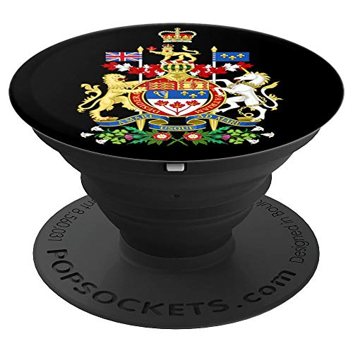 Coat Of Arms Canada Pop Mount Socket Seal Emblem - PopSockets Grip and Stand for Phones and Tablets