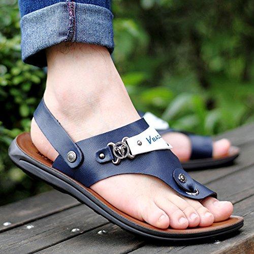 Open Blue Outdoor Toe Pantofole Infradito Uomo Sandali Estate Sport da Sandali Antiscivolo Comfort Cvq6R6w