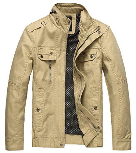 Zip Front Shirt Jacket - 1