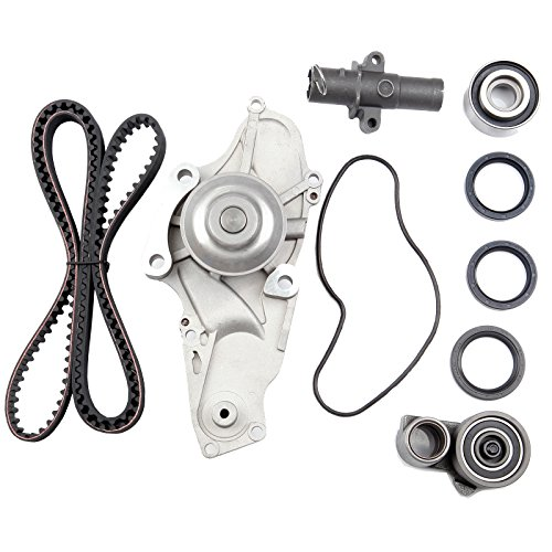 (ECCPP New Timing Belt Water Pump Kit Fits 2003-2012 Honda Accord Pilot Odyssey Ridgeline Acura RDX TSX ZDX MDX TL RL 3.0L 3.2L 3.5L 3.7L V6)