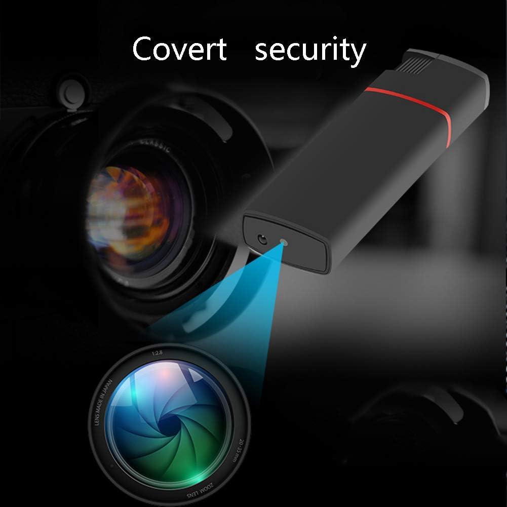 HD 1920 x 1080P mechero electr/ónico real Mechero Micro Cam c/ámara esp/ía oculta color negro para audio y fotograf/ía grabadora de v/ídeo port/átil Mini DV