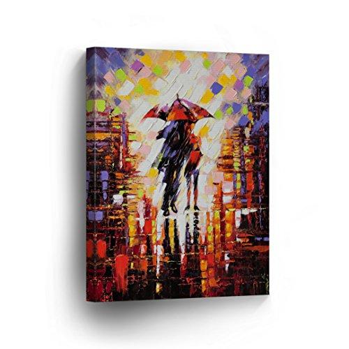 Couple Under Umbrella - 5