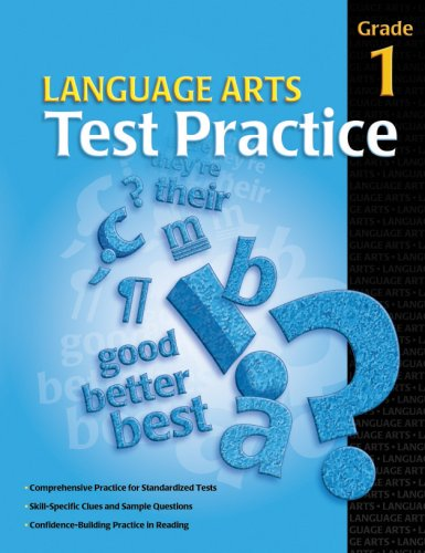 Language Arts Test Practice Student Edition, Consumable Grade 1 (Test Practice (School Specialty Publishing)) by Brand: Brighter Child