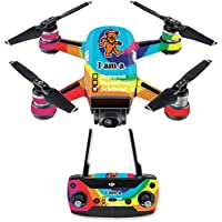 Skin for DJI Spark Mini Drone Combo - Deadhead| MightySkins Protective, Durable, and Unique Vinyl Decal wrap cover | Easy To Apply, Remove, and Change Styles | Made in the USA