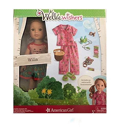 American Girl WellieWishers 14.5-Inch Willa Doll + Accessory Set -