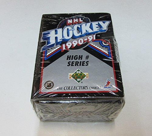 - 1990/91 Upper Deck Hockey High Number Factory Set