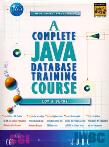 Download A Complete Java Database Training Course 2 Books With