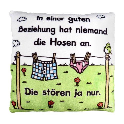 Sheepworld 42383 Plüschkissen Beziehung
