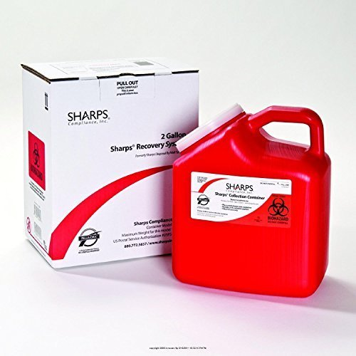 Sharps Recovery System, 2 gal Part No. 12000012 Qty 1 by Sharps Compliance, Inc