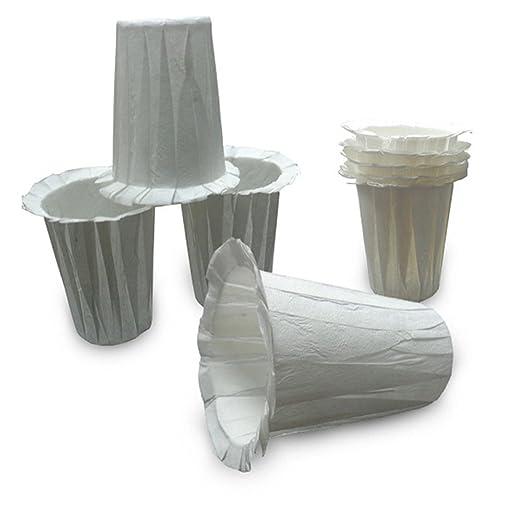 50pcs filtros de café cafetera de grado de alimentos desechables ...