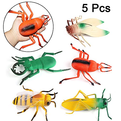 8 Plastic Bugs - 2