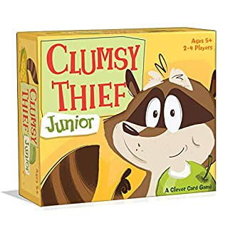 Melon Rind Clumsy Thief Junior Card Game - Adding to 10 Math Game for Kids (Ages 5 and up)