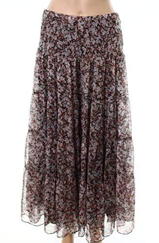 LAUREN RALPH LAUREN Womens Moriah Floral Print Peasant, Boho Skirt Pink XS - Skirt Ralph Print Lauren