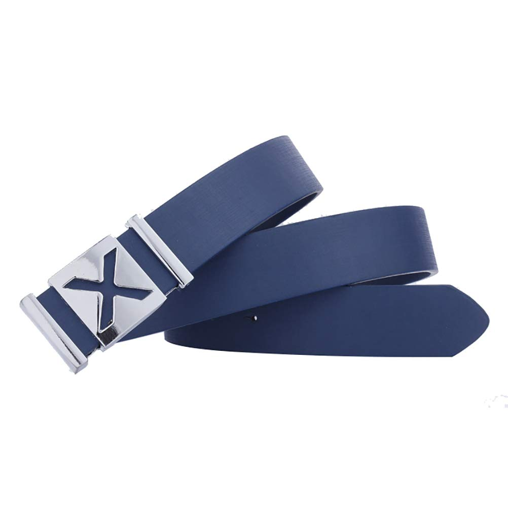 ViewHuge Mens Dress Belt Leather Belts for Jeans with X Buckle