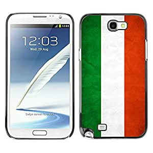 Shell-Star ( National Flag Series-Hungary ) Fundas Cover Cubre Hard Case Cover para Samsung Galaxy Note 2 II / N7100