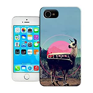 Unique Phone Case Collage art Bus or Goat Hard Cover for 5.5 inches iphone 6 plus cases-buythecase by lolosakes by lolosakes