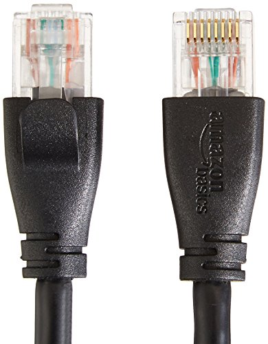 Amazon Basics RJ45 Cat-6 Ethernet Patch Internet Cable - 3 Feet (0.9 Meters) 3 An Amazon Brand