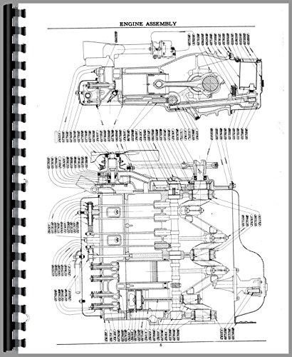 Case S SO SC Tractor W/O Eagle Hitch Early (4500001-5000001) Parts Manual