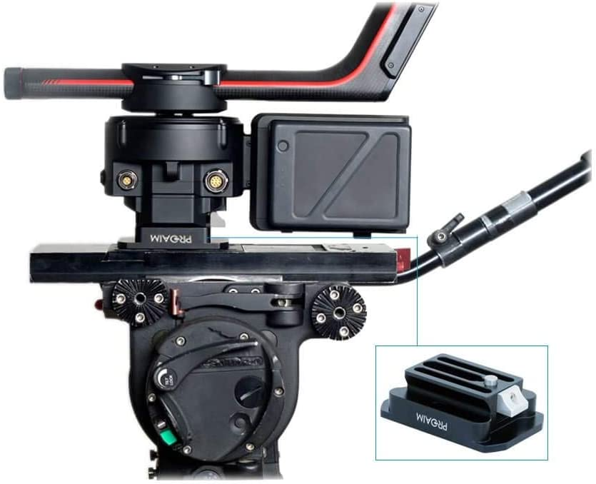 FLYCAM Quick Release Plate Adapter for DJI Ronin Gimbal Stabilizer Tripod Mount Support for Handheld Ronin Gimbal Video Stabilizer System DJI-QR