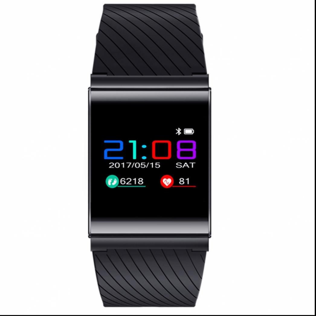 Pulsera Actividad Pulsera Inteligente,Pulsera Inteligente de Fitness con Perseguidor de la aptitud Monitor de Ritmo Cardíaco y Sueño Monitoreo de frecuencia cardíaca Soporta Llamada Mensaje para Android y iOS Teléfono móv
