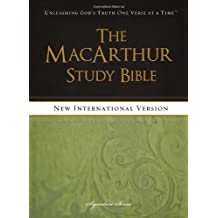 The MacArthur Study Bible, NIV: Written by John Macarthur, 2013 Edition, Publisher: Thomas Nelson [Hardcover]