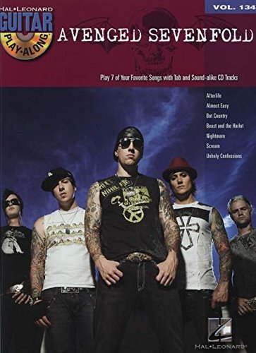 Contemporary Glorious Avenged Sevenfold Guitar Recorded Versions Tab Book